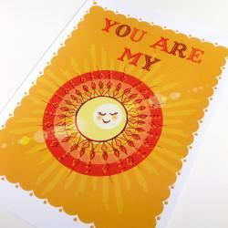 'My Sunshine' A4 Unframed Print